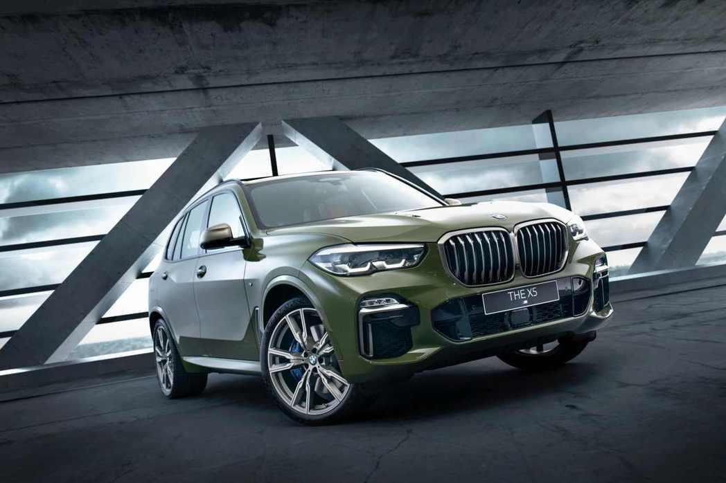 全新BMW X5 M50i Individual Edition外觀搭配Urba...