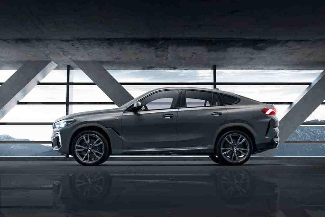 全新BMW X6 M50i Individual Edition兼具動感與美學,...