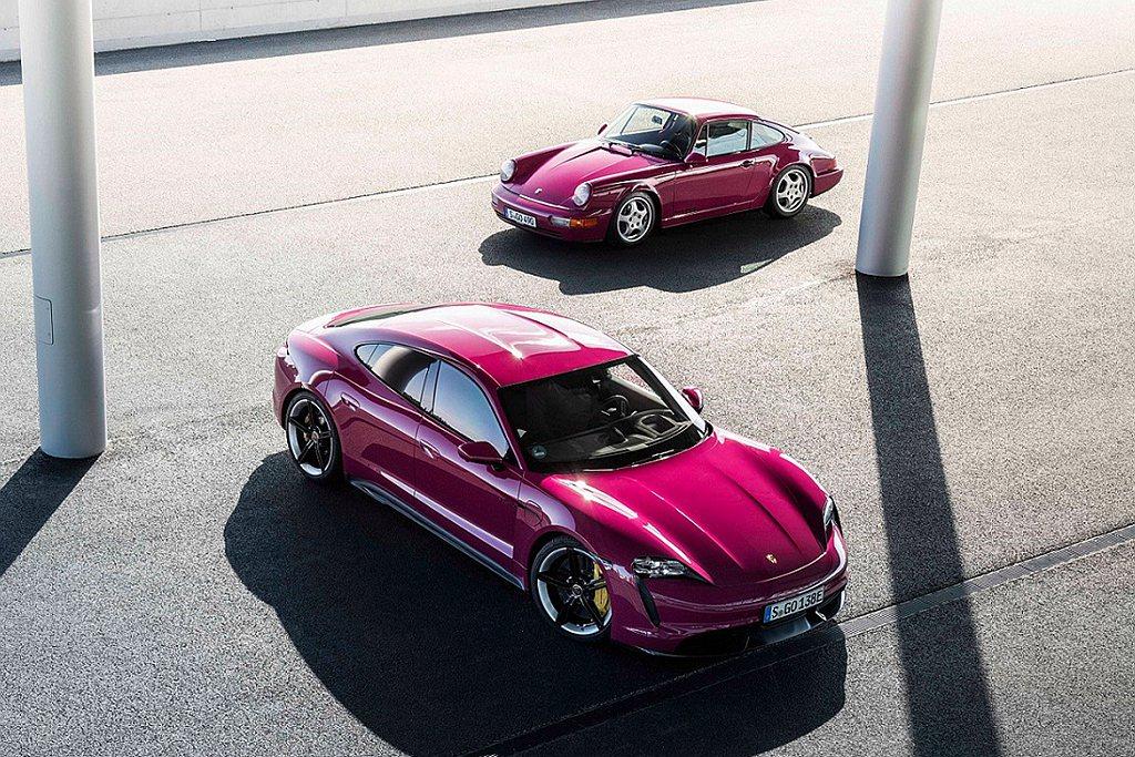 Paint to Sample讓車主能選擇65種全新車色,包括保時捷品牌的特色車...