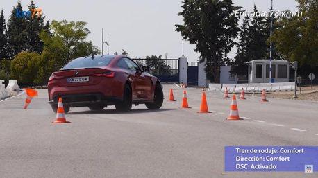 影/BMW M4 Competition的麋鹿測試結果竟讓人大感吃驚!