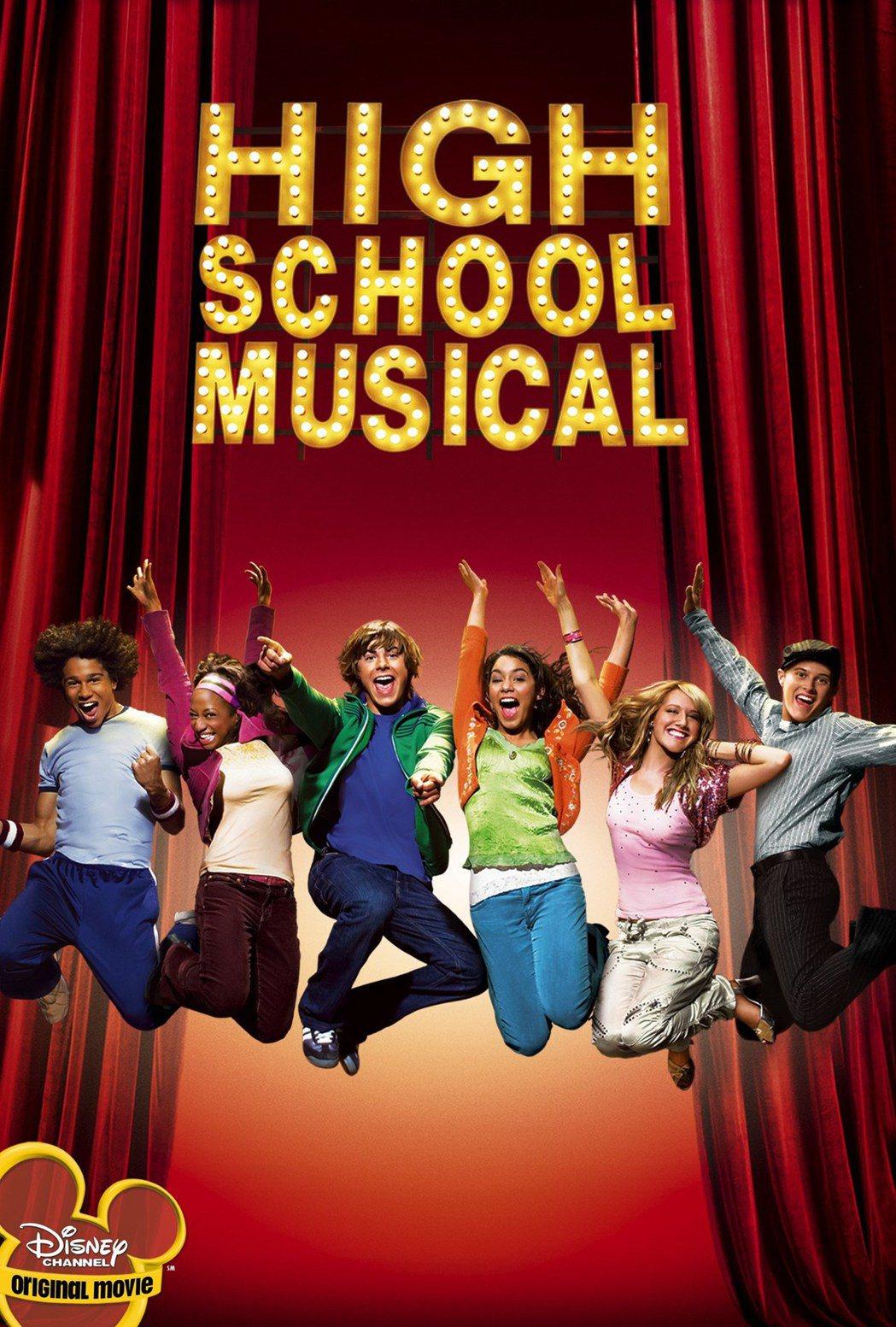 「歌舞青春」在迪士尼頻道創下驚人佳績,紅遍全球。圖/摘自imdb