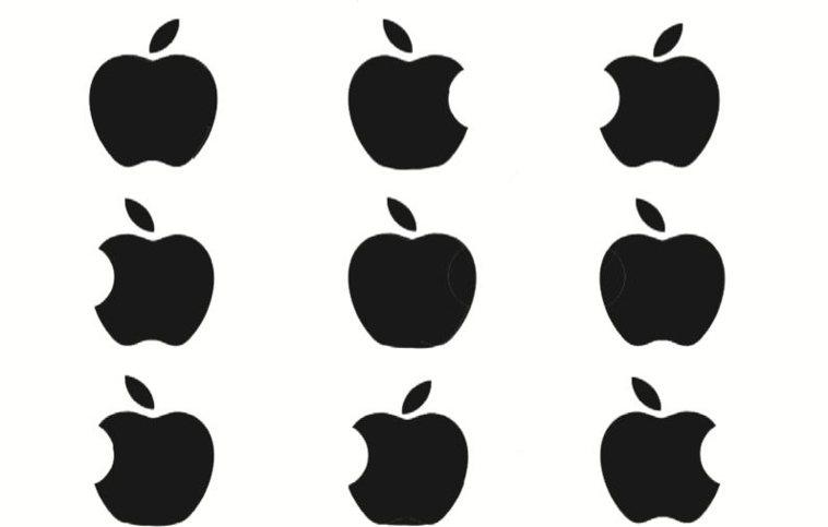 考考你哪個是正確的蘋果LOGO?