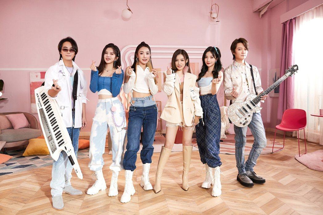 F.I.R.新歌「戀戀」邀來人氣女團SNH48_7SENSES合作。圖/華研國際...