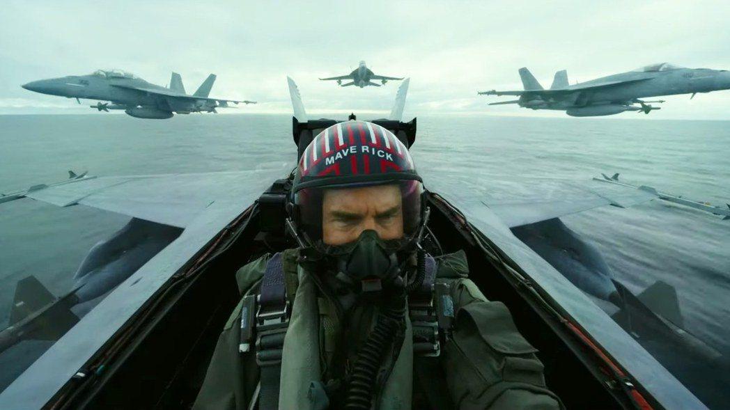 湯姆克魯斯在「捍衛戰士:獨行俠」繼續狂飆速度快感。圖/摘自imdb