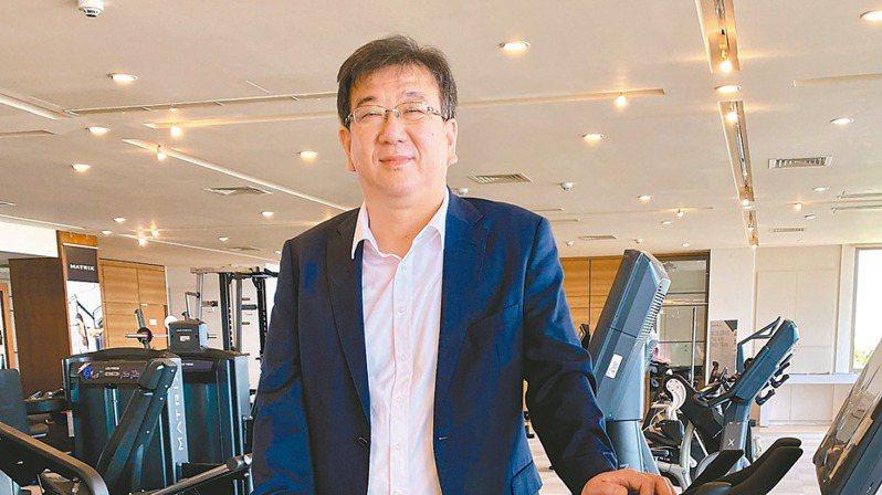 喬山健康科技總經理羅光廷  記者宋健生/攝影