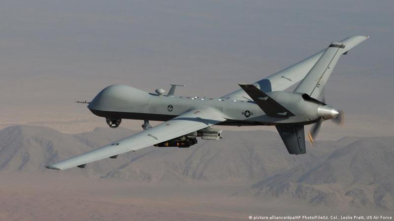 美軍中央司令部(Centcom)通報稱,在楠格哈爾省,美軍無人機對「伊斯蘭國呼羅珊」的一名「策劃人」進行了報復性軍事行動。圖/德國之聲中文網