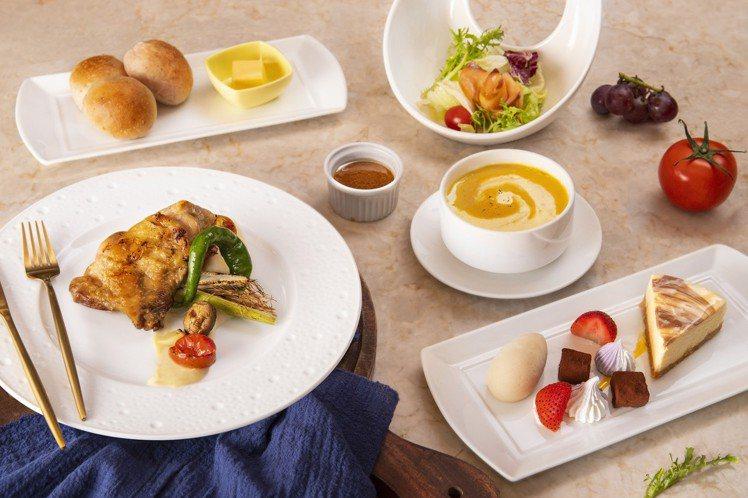 台北凱達大飯店採套餐吃到飽的新型態。圖/台北凱達提供