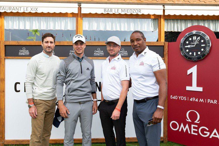歐米茄名人高爾夫球賽賽前的年度職業業餘配對賽,今年則有包含OMEGA自家高球好手...