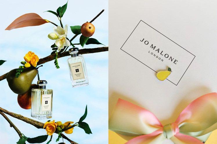 Jo Malone London最經典的香水「英國梨與小蒼蘭」,推出10周年限量...