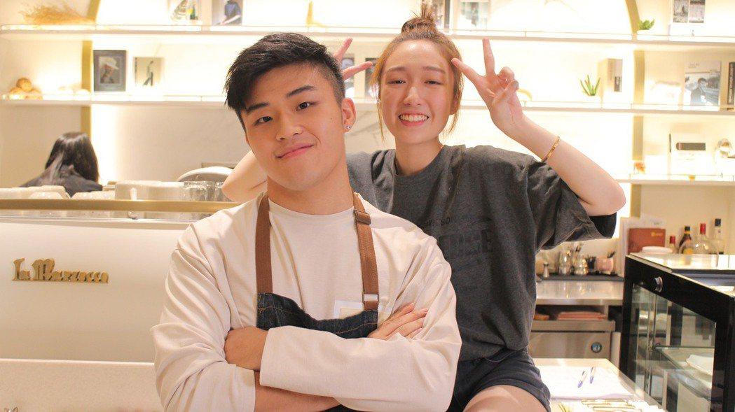 劉昊(左)與王敏淳同為伯克利音樂學院留學生。圖/捌拾貳拾提供