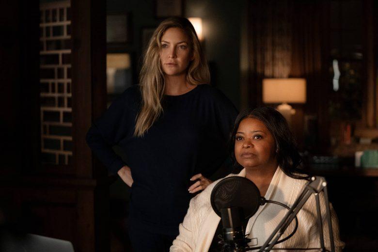 奧塔薇亞史班森(右)主演「直言真相」推出第2季,找來好友凱特哈德森加盟演出。圖/