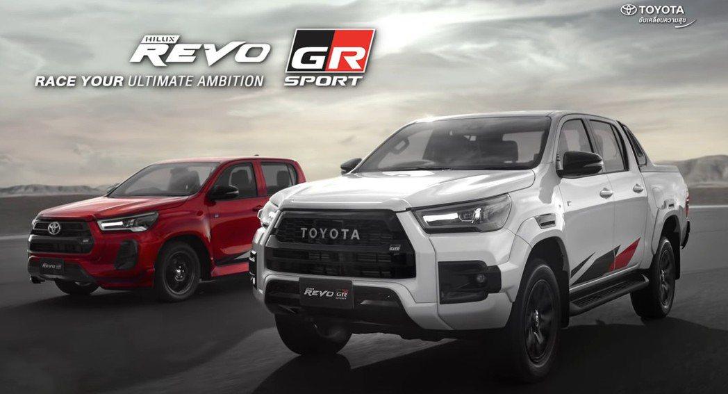 泰國TOYOTA就推出Hilux Revo GR Sport,並兩種底盤形式及不...