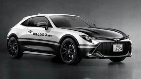 這台三門Corolla Sport很可以! TOYOTA要推頭文字D特仕車?
