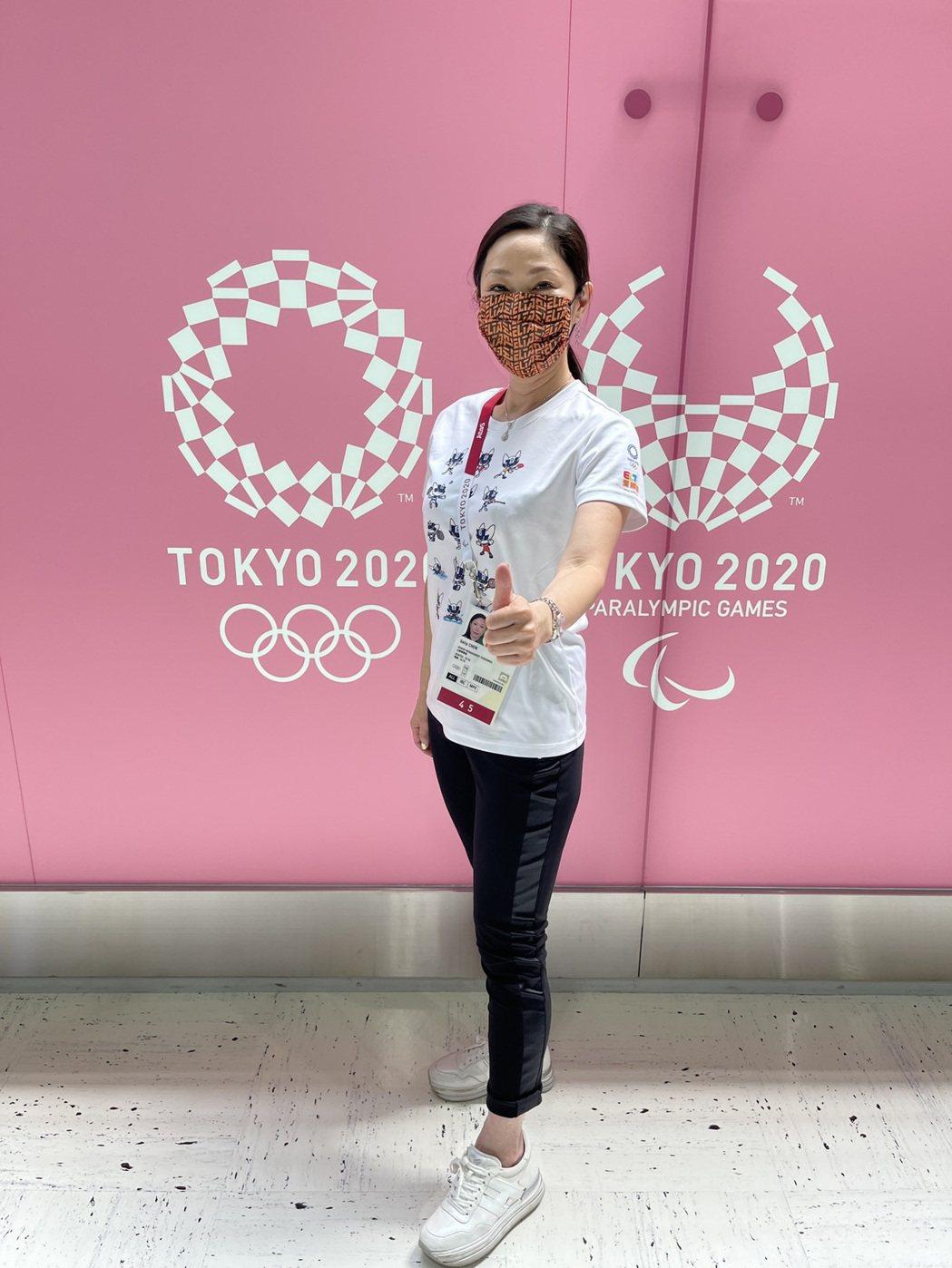 新媒體業者愛爾達今年轉播東京奧運,董事長暨執行長陳怡君(圖)親赴現場坐鎮指揮,並