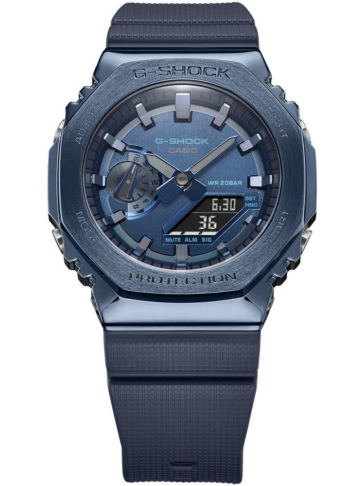 G-Shock GM-2100N-2A腕表7,000元。圖/Casio提供