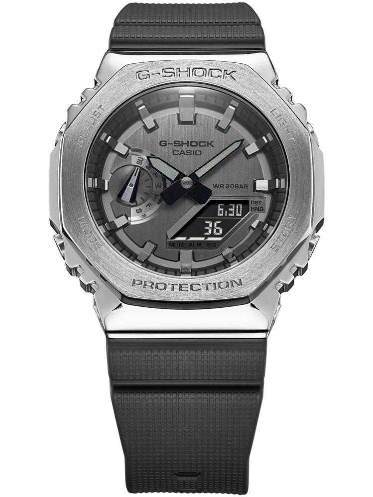 G-Shock GM-2100-1A腕表6,500元。圖/Casio提供