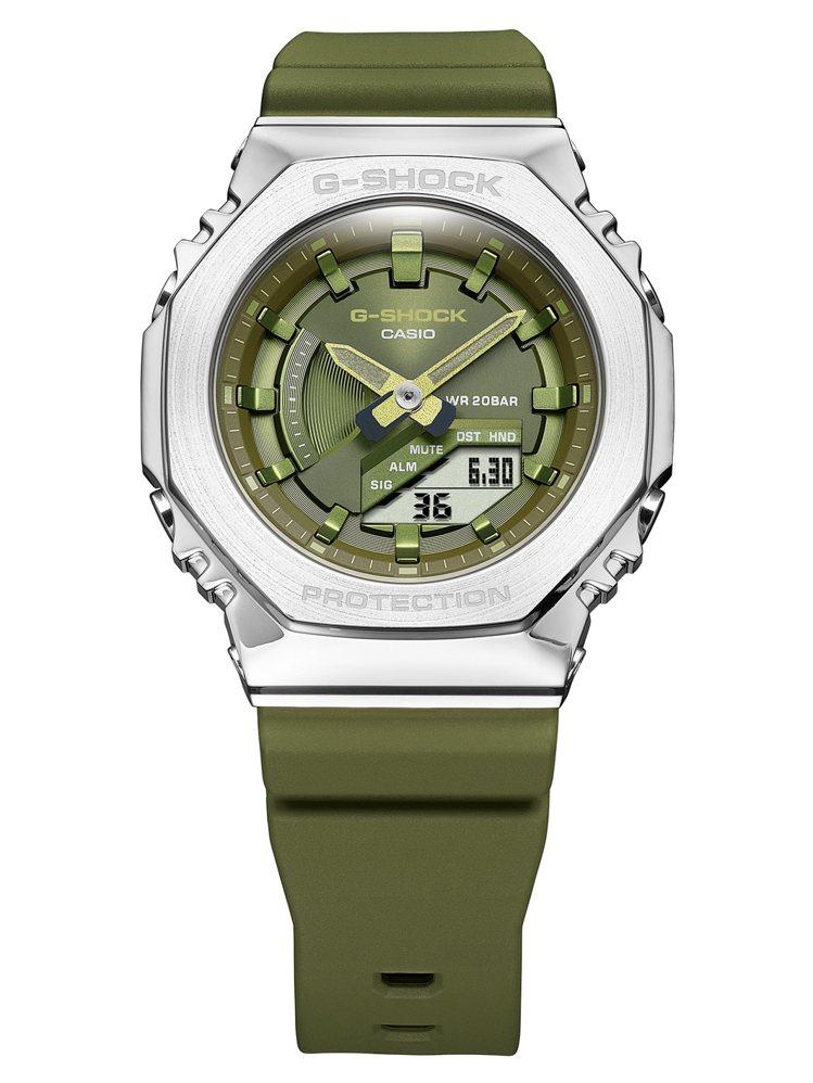 G-Shock GM-S2100-3A腕表6,000元。圖/Casio提供