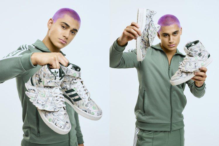 adidas JS Money Wings鞋,限量100雙7,000元。圖/ad...