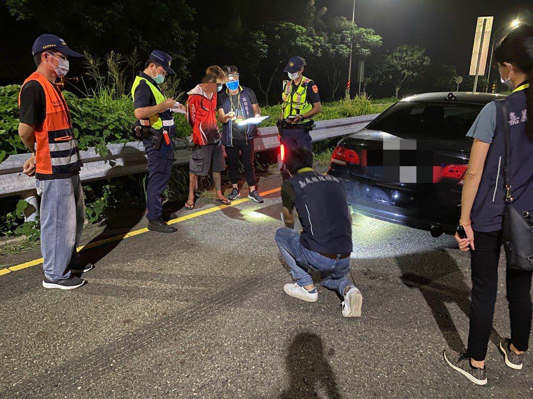 嘉義縣警察局昨天聯合路檢,共查獲3件酒駕、31件超速。記者莊祖銘/ㄈㄢㄕㄜ