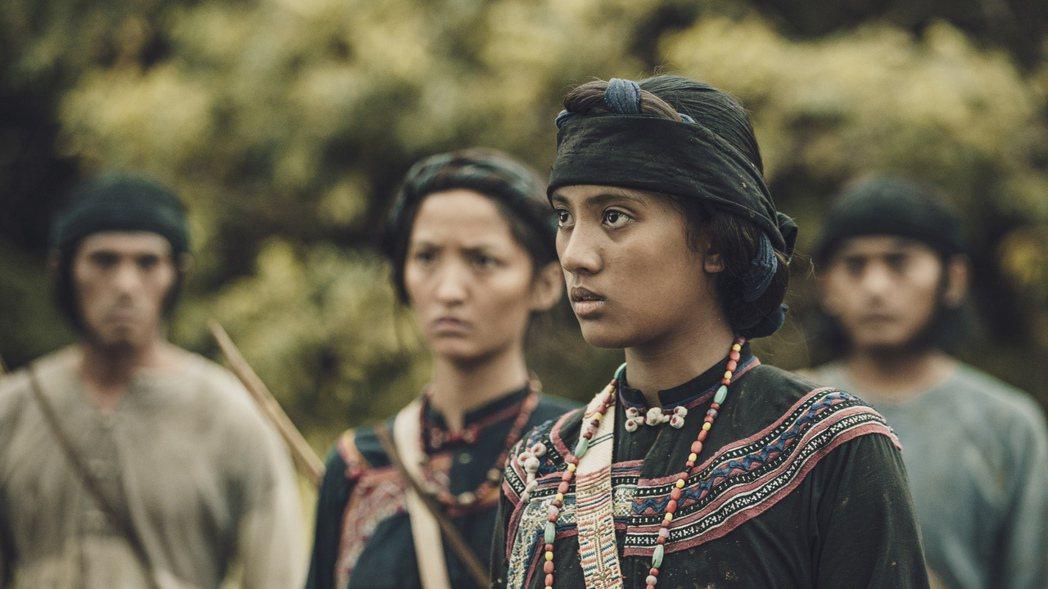 程苡雅在「斯卡羅」中飾演公主烏米娜,拍攝時她才13歲。圖/公視提供