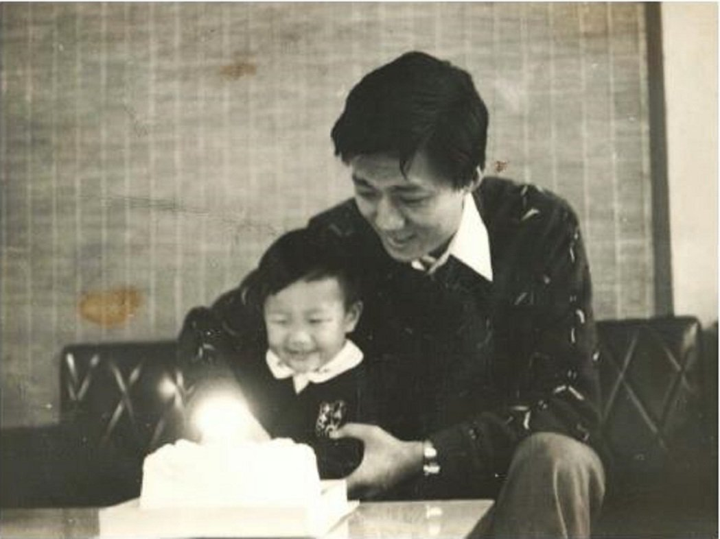 蔣偉文的爸爸對他影響深遠。圖/艾迪昇傳播提供