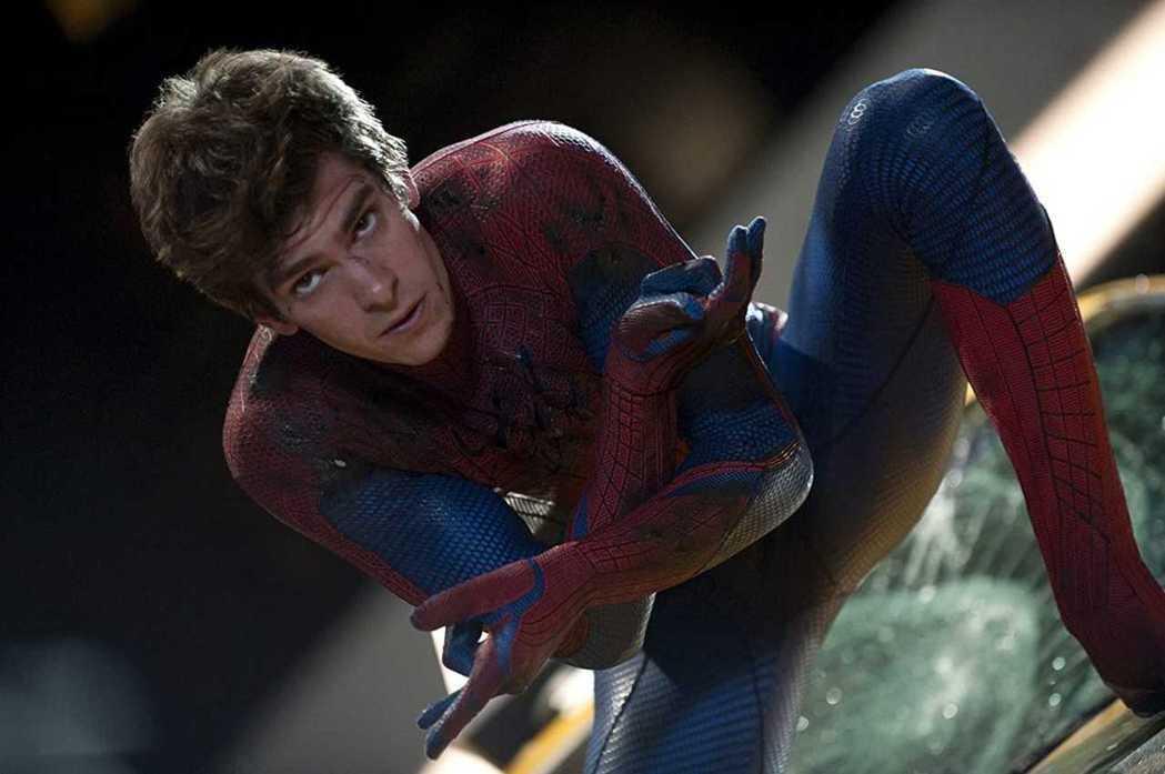 安德魯加菲是「蜘蛛人:驚奇再起」系列的主角。圖/摘自imdb