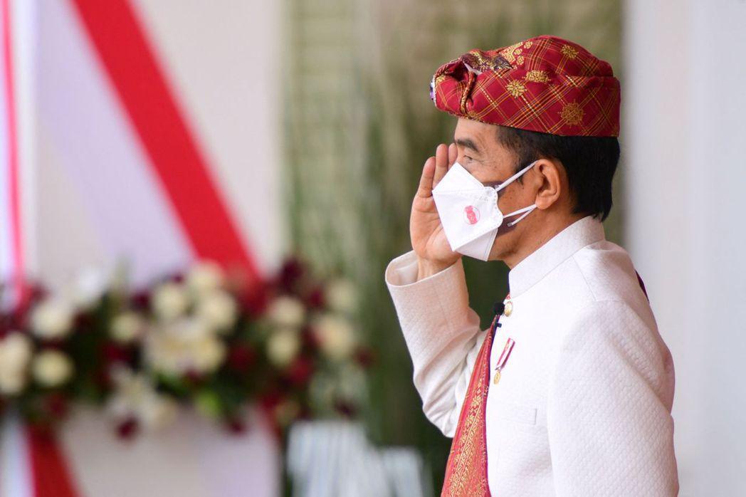 圖為印尼總統Joko Widodo。 圖/法新社