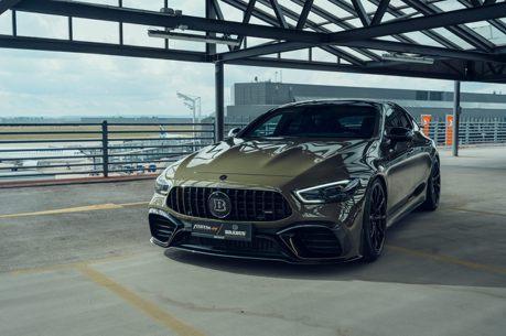 Brabus+Fostla雙強聯手 Mercedes-AMG GT 63 S帥到要飛天了!