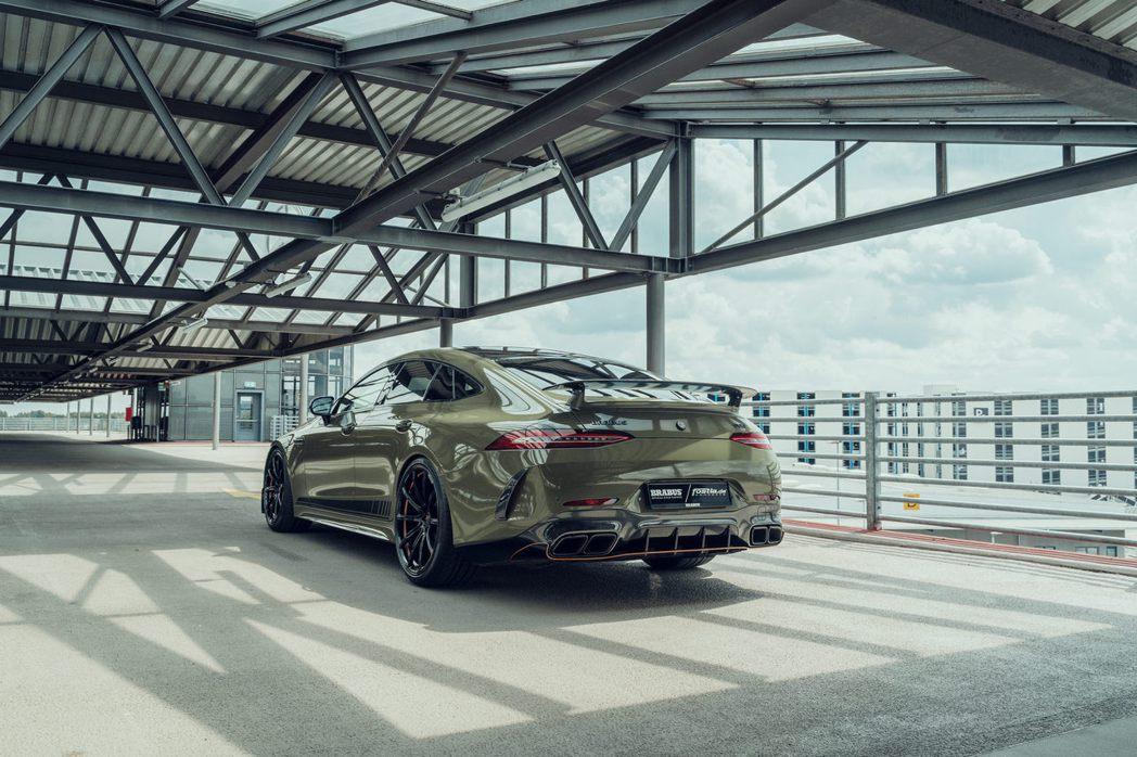 Brabus及Fostla進行改裝的Mercedes-AMG GT 63 S。 ...