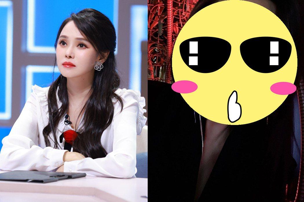 網友質疑伊能靜曾整容過。 圖/擷自weibo。