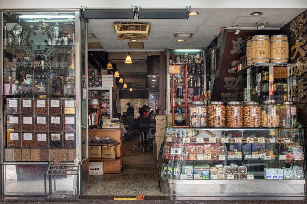 1956年開業,位於台北西門町的蜂大咖啡。圖/Hally Chen提供