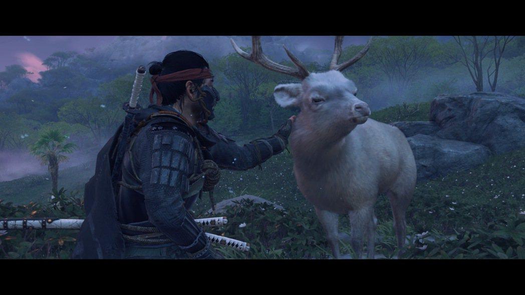 追憶父親的所在總有一頭白鹿,彷彿是什麼人守候在仁身邊一樣……