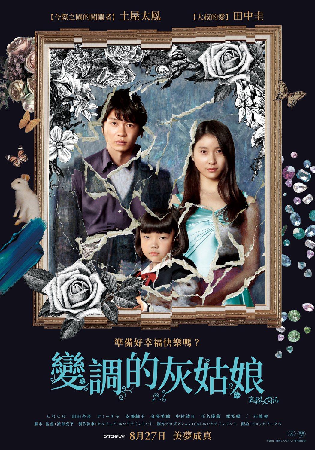 「變調的灰姑娘」27日上映。圖/CATCHPLAY提供