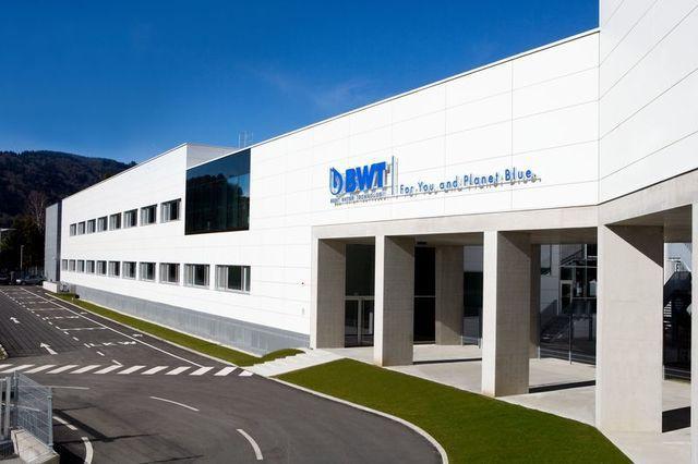 德國BWT倍世淨水總部。