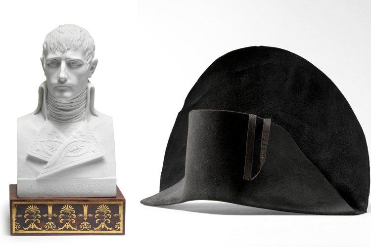 邦瀚斯將舉辦拿破崙主題拍賣,上面帶有拿破崙DNA的帽子將領銜拍賣。圖/邦瀚斯提供