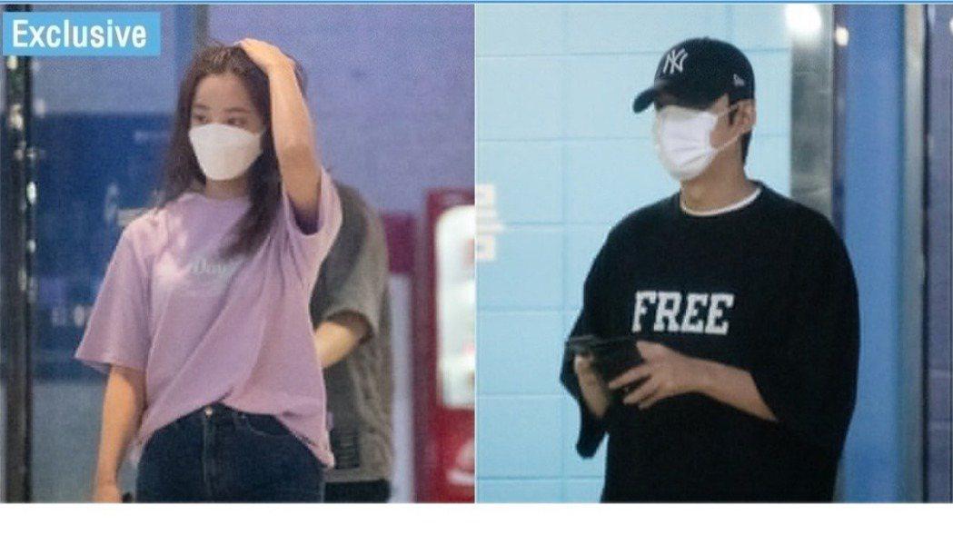 李敏鎬和妍雨約會被拍。圖/摘自dispatch