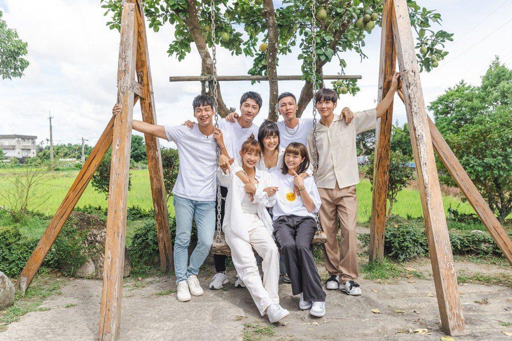 「全明星觀察中」找來7位藝人同居14天。圖/台視提供
