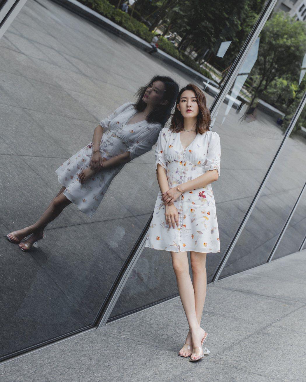 陳語安身材纖細,體重僅38公斤。圖/&Fellows娛樂提供