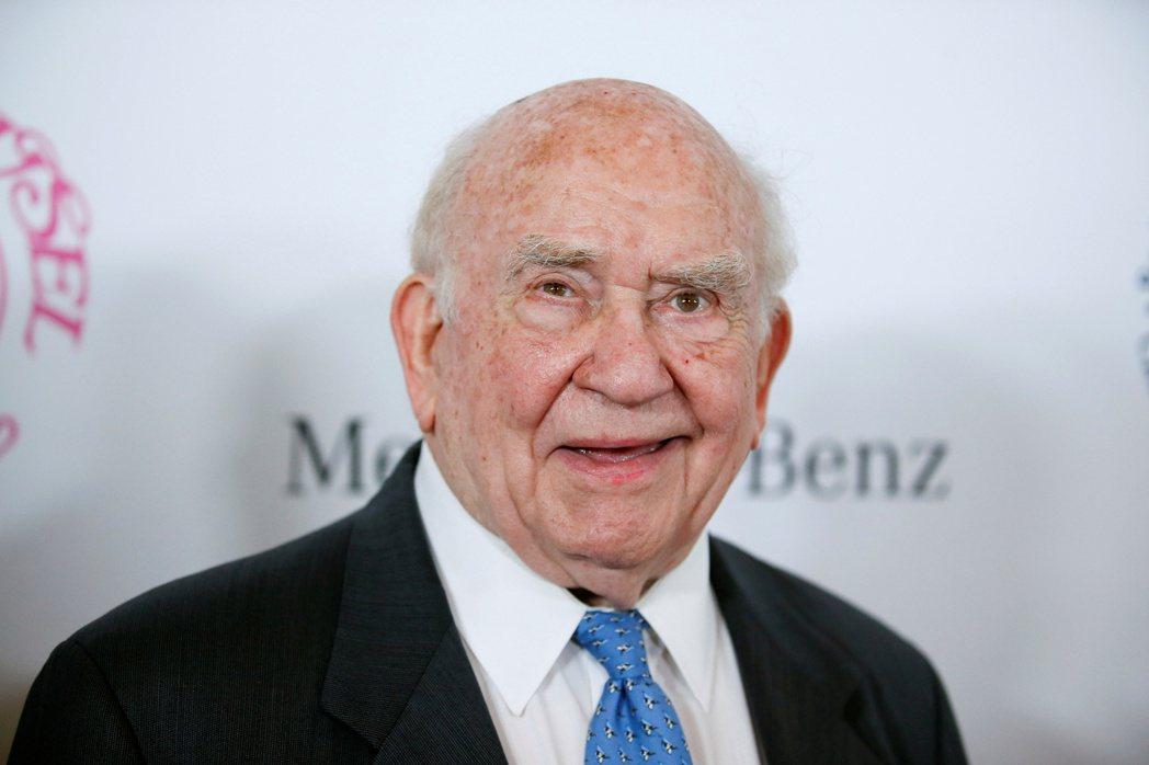 美國影集資深男星愛德艾斯納去世,享壽91歲。(路透)