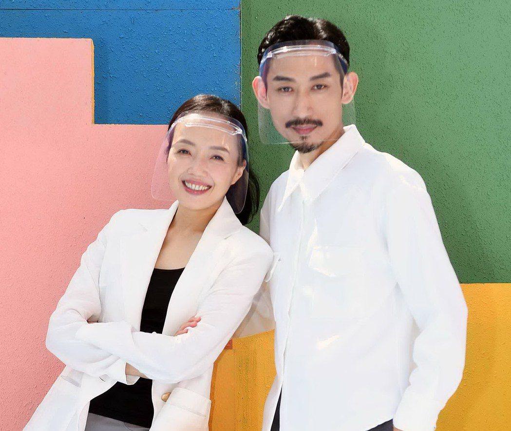 國際舞者許芳宜(左)在「俗女2」中演出陳竹昇的初戀女友。圖/華視、CATCHPL...