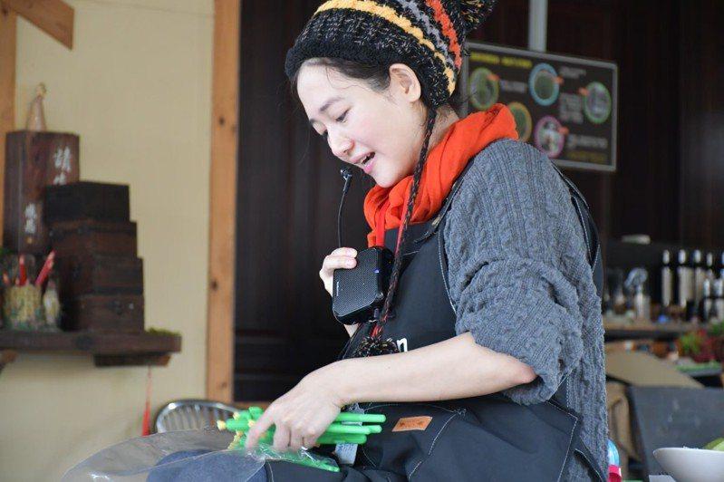 葉婷婷從香港遠嫁到台灣,投入南投八卦山農村地方創生。圖/葉婷婷提供