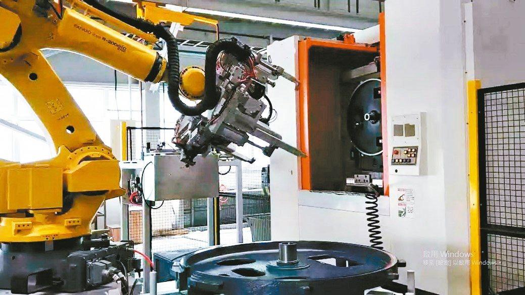 北鉅科技集團的自動化生產線。北鉅/提供