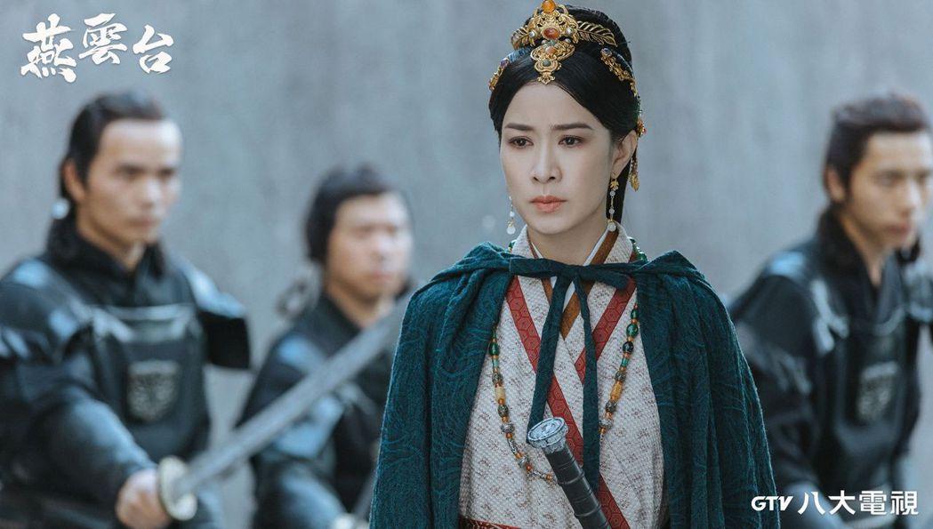 佘詩曼形容在「燕雲台」中的角色「蕭胡輦」,像拉不拉多犬非常忠誠,一心守護她關愛的...