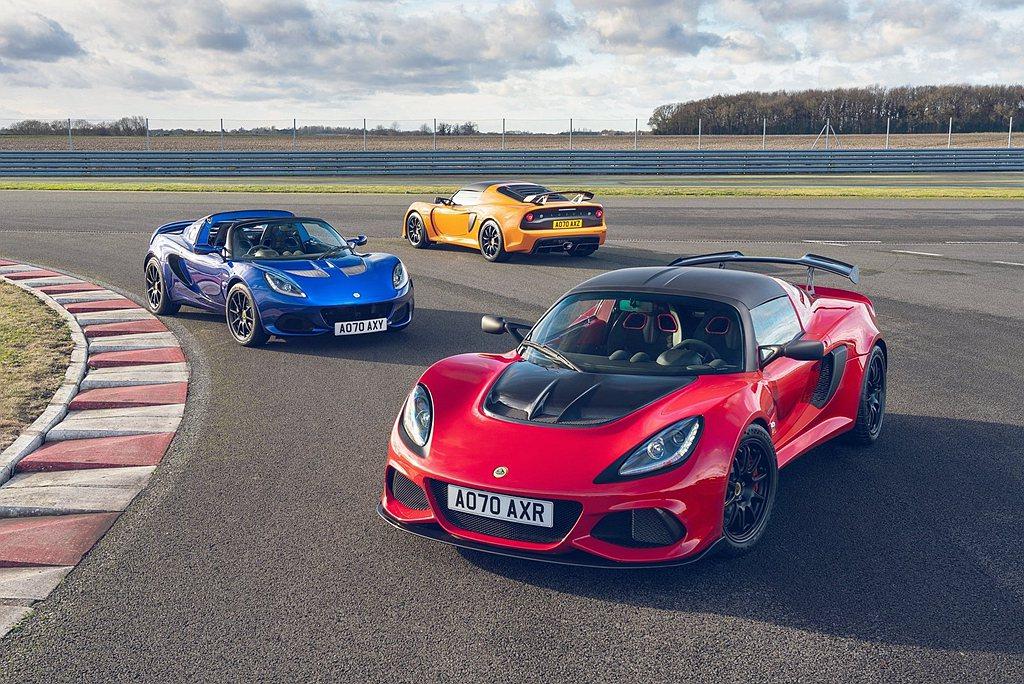 Lotus Exige Sport 390 Final Edition具有專屬車...