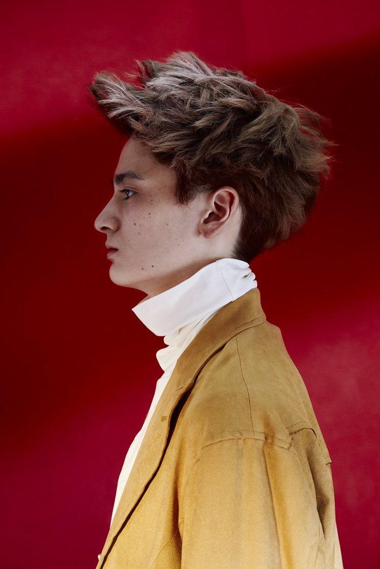 男生染髮可以選有層次感。圖/資生堂專業美髮提供
