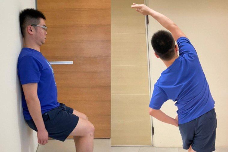 1分鐘判斷法檢測 4運動可預防 漸進式調回運動模式。圖/陳渝仁提供