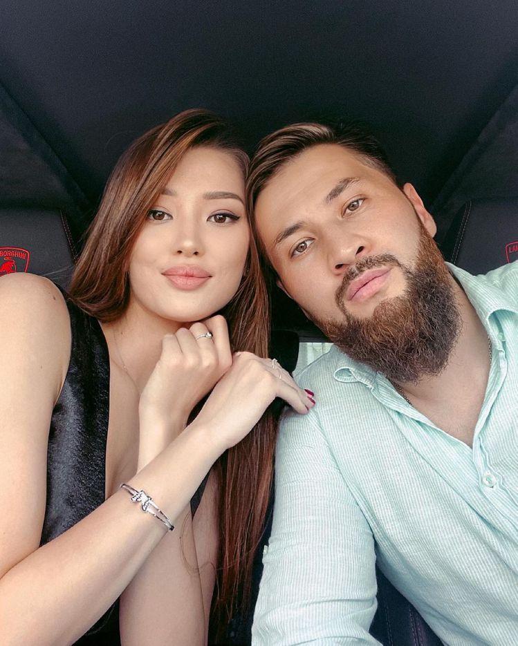 莎賓娜和丈夫。 圖/擷自莎賓娜Instagram