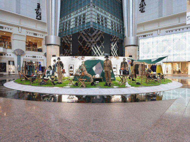 PRADA Outdoor Mountain快閃店於即日起至9月23日,在台北1...