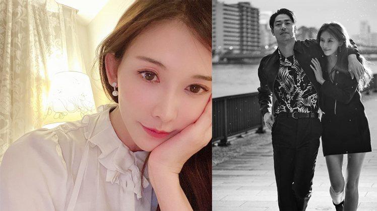 林志玲婚後定居日本。圖/擷自臉書