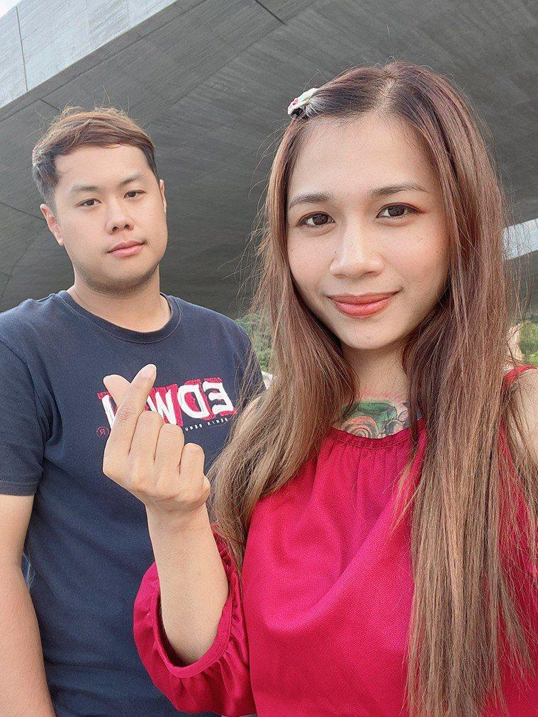 對於太太返國進行結婚面談,卻從此無法再回來台灣相聚。圖/孫先生提供